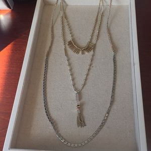 Stella and Dot Riad Layering Necklace